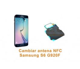Cambiar antena NFC Samsung Galaxy S6 G920F
