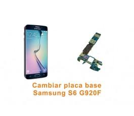 Cambiar paca base Samsung Galaxy S6 G920F