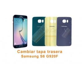 Cambiar tapa trasera Samsung Galaxy S6 G920F