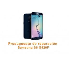 Presupuesto de reparación Samsung Galaxy S6 G920F