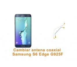 Cambiar antena coaxial Samsung Galaxy S6 Edge G925