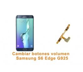 Cambiar botones volumen Samsung Galaxy S6 Edge G925