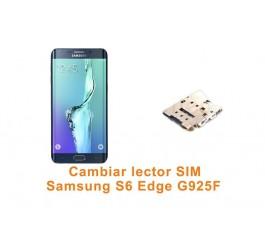 Cambiar lector SIM Samsung Galaxy S6 Edge G925F