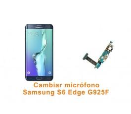 Cambiar micrófono Samsung Galaxy S6 Edge G925F