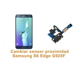 Cambiar sensor proximidad Samsung Galaxy S6 Edge G925F