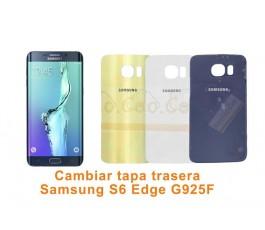 Cambiar tapa trasera Samsung Galaxy S6 Edge G925F