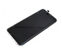 Pantalla completa con marco para Samsung S8 Plus G955 violeta reparada