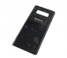 Tapa trasera para Samsung Galaxy Note 8 N950 negra