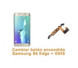 Cambiar botón encendido Samsung S6 Edge Plus G928