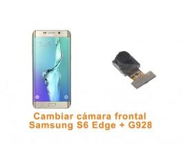 Cambiar cámara delantera Samsung S6 Edge Plus G928