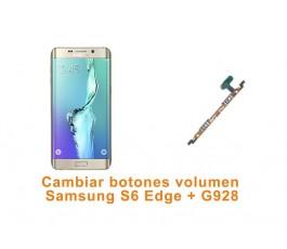 Cambiar botones volumen Samsung S6 Edge Plus G928