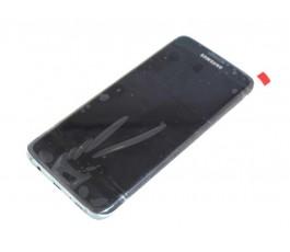 Pantalla completa para Samsung Galaxy S7 Edge Reparada negra