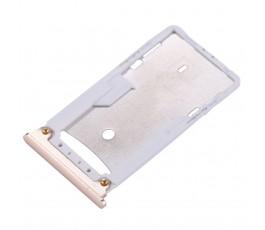 Porta tarjeta sim y microSD para Xiaomi Mi Max 2 dorado