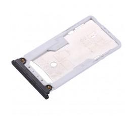 Porta tarjeta sim y microSD para Xiaomi Mi Max 2 negro