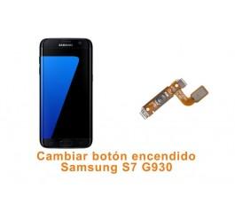 Cambiar botón encendido Samsung Galaxy S7 G930