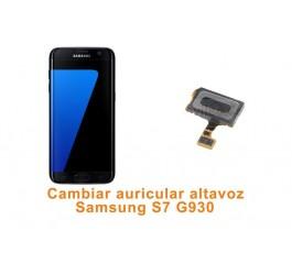 Cambiar auricular altavoz Samsung Galaxy S7 G930