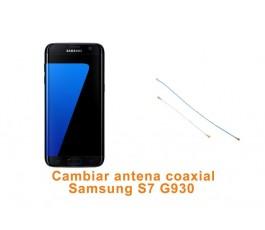 Cambiar antena coaxial Samsung Galaxy S7 G930