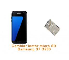 Cambiar lector micro SD Samsung Galaxy S7 G930