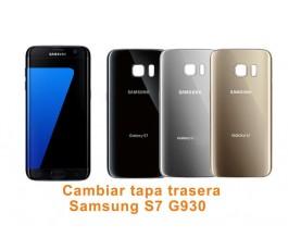 Cambiar tapa trasera Samsung Galaxy S7 G930