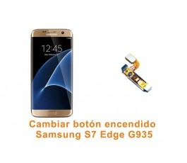 Cambiar botón encendido Samsung Galaxy S7 Edge G935