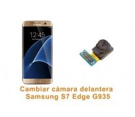 Cambiar cámara delantera Samsung Galaxy S7 Edge G935