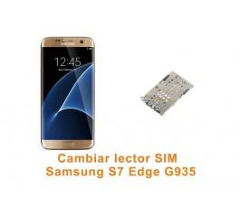 Cambiar lector SIM Samsung Galaxy S7 Edge G935