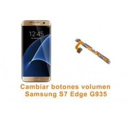 Cambiar botones volumen Samsung Galaxy S7 Edge G935