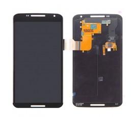 Pantalla completa táctil y lcd para Motorola Nexus 6 XT1100 negra