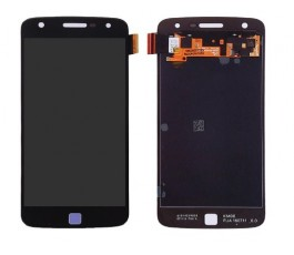 Pantalla completa táctil y lcd para Motorola Moto Z Play Droid negra
