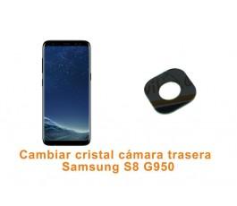 Cambiar cristal cámara trasera Samsung Galaxy S8 G950