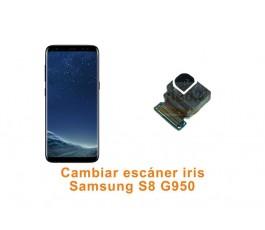 Cambiar cámara escáner iris Samsung Galaxy S8 G950