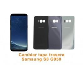 Cambiar tapa trasera Samsung Galaxy S8 G950