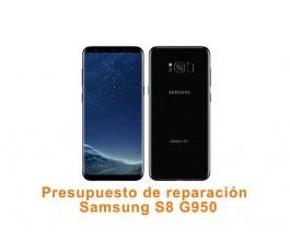 Presupuesto de reparación Samsung Galaxy S8 G950
