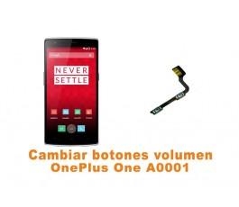 Cambiar botones volumen OnePlus One A0001