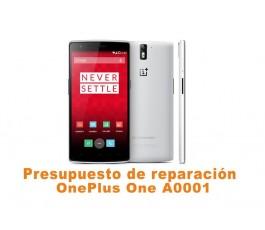 Presupuesto de reparación OnePlus One A0001