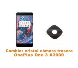 Cambiar cristal cámara trasera OnePlus One 3 A3000