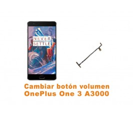 Cambiar botones volumen OnePlus One 3 A3000
