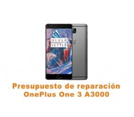 Presupuesto de reparación OnePlus One 3 A3000