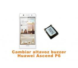 Cambiar altavoz buzzer Huawei Ascend P6