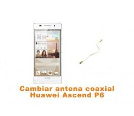 Cambiar antena coaxial Huawei Ascend P6