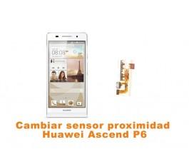 Cambiar sensor proximidad Huawei Ascend P6