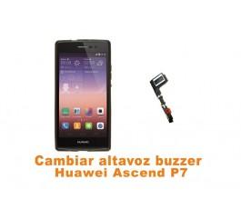 Cambiar altavoz buzzer Huawei Ascend P7