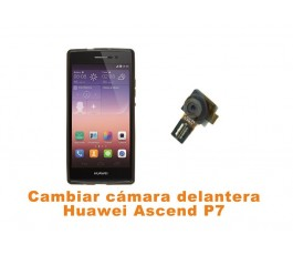 Cambiar cámara delantera Huawei Ascend P7