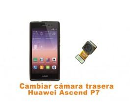 Cambiar cámara trasera Huawei Ascend P7