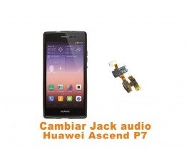 Cambiar Jack audio Huawei Ascend P7