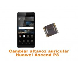 Cambiar altavoz auricular Huawei Ascend P8