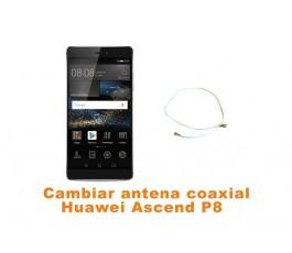Cambiar antena coaxial Huawei Ascend P8