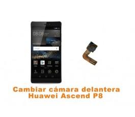Cambiar cámara delantera Huawei Ascend P8