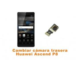 Cambiar cámara trasera Huawei Ascend P8
