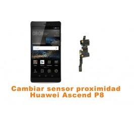 Cambiar sensor proximidad Huawei Ascend P8